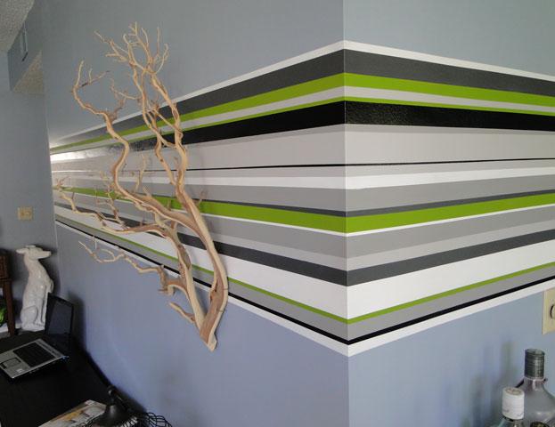 design fix wall stripes Design Apothecary
